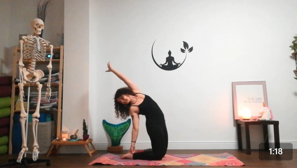 Pada Kriya - sequenza yoga